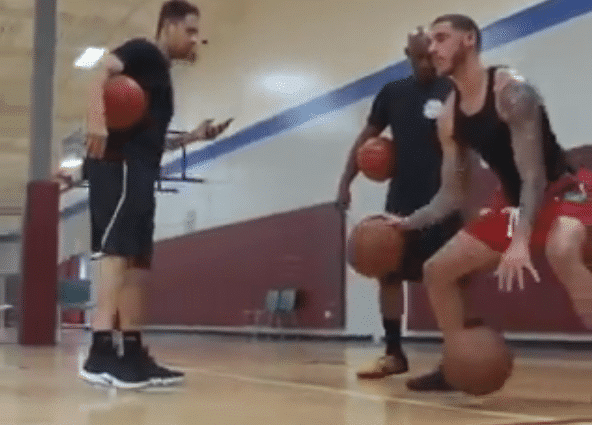 Lonzo Ball Training with Pro's Vision